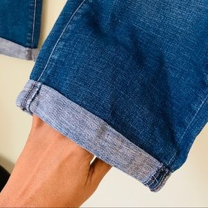 Levi's Jeans - LEVIS Rolled Cuff Crop Jeans Size 18